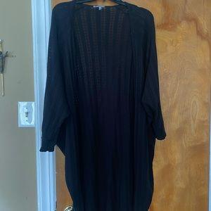 Black Kimono Charlotte Russe size Medium